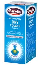 BENYLIN® Non-Drowsy Dry Coughs Syrup