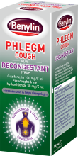 BENYLIN® Phlegm Cough plus Decongestant Syrup